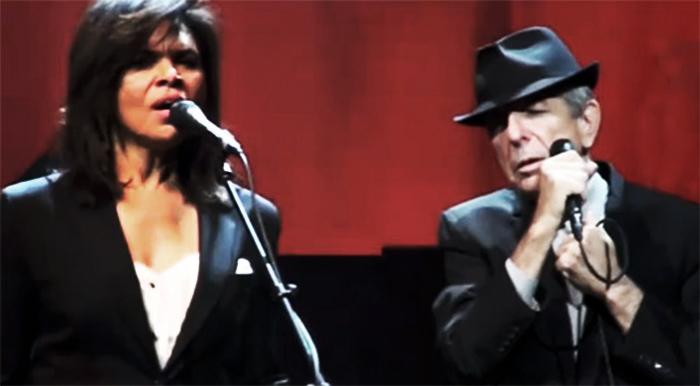 Sharon Robinson & Leonard Cohen Caesar's Palace 2010