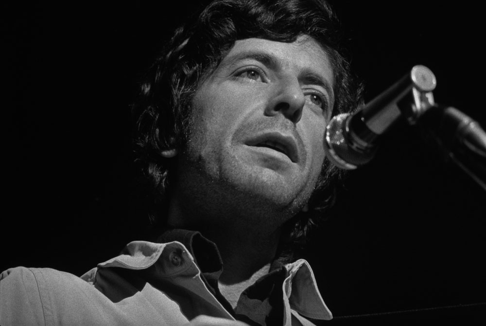 Listen to leonard cohen recite his poetry sing his songs for Leonard cohen music videos