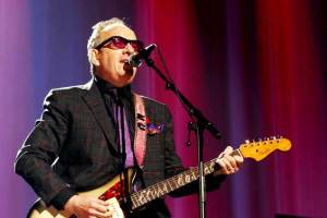 "Elvis Costello performs ""The future"""