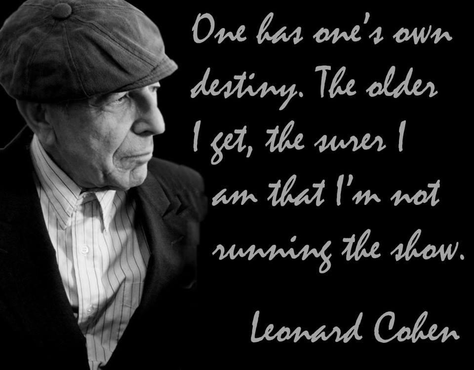 Aging - Cohen Quote Archives - Cohencentric: Leonard Cohen Considered