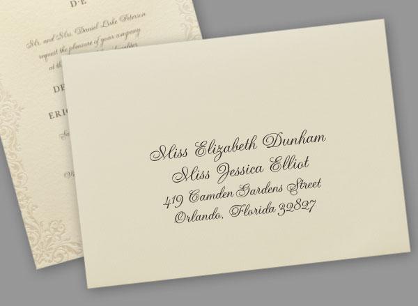 Address Party Invitations
