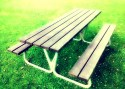 Photography Exercise - Park Bench