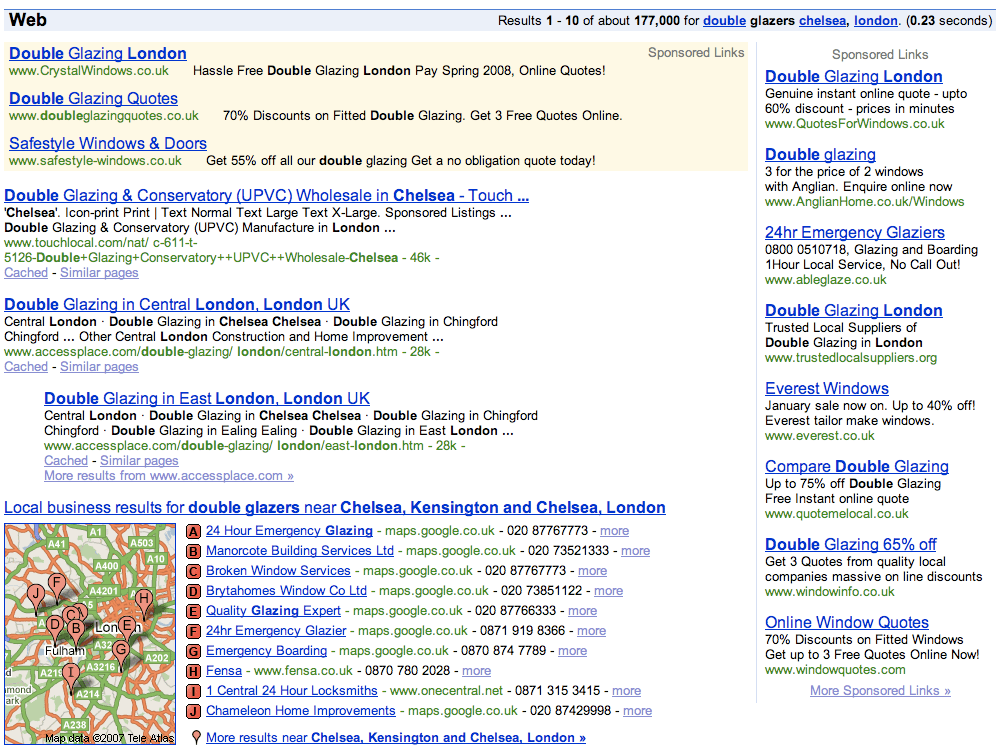 Google Local London