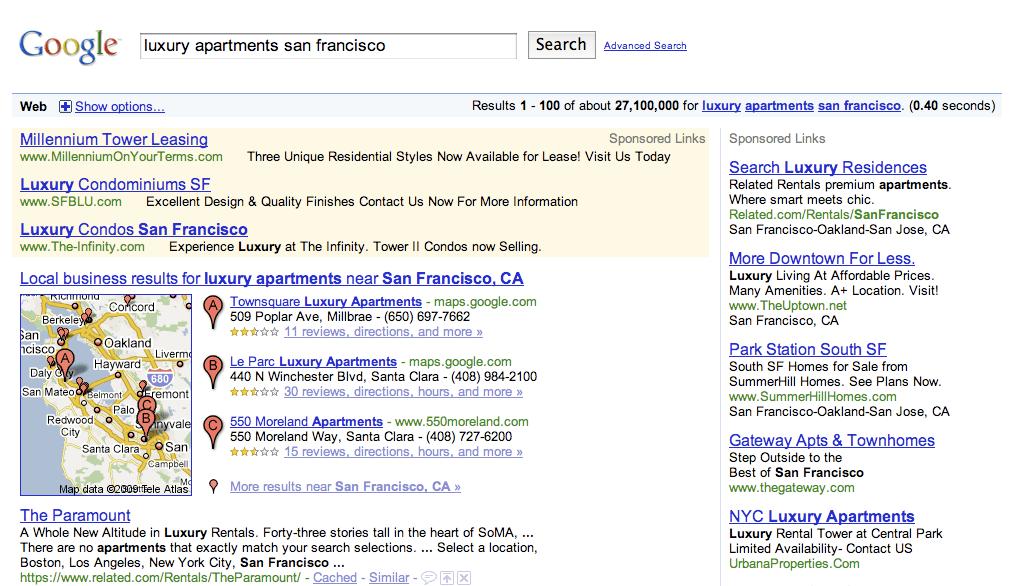 Luxury Apartmetns San Francisco