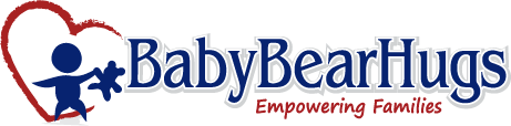 Baby Bear Hugs - a Colorado home visiting program - logo