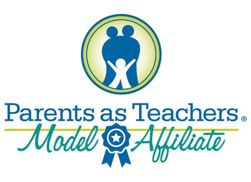 Parents as Teachers Model Affiliate logo - Blue Ribbon