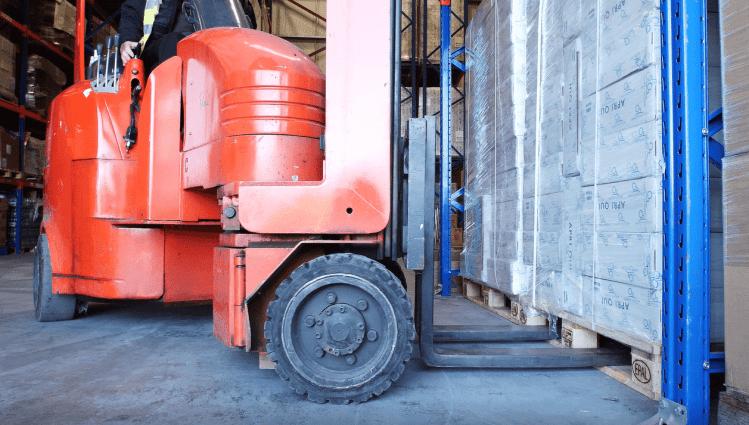 Forklift-training