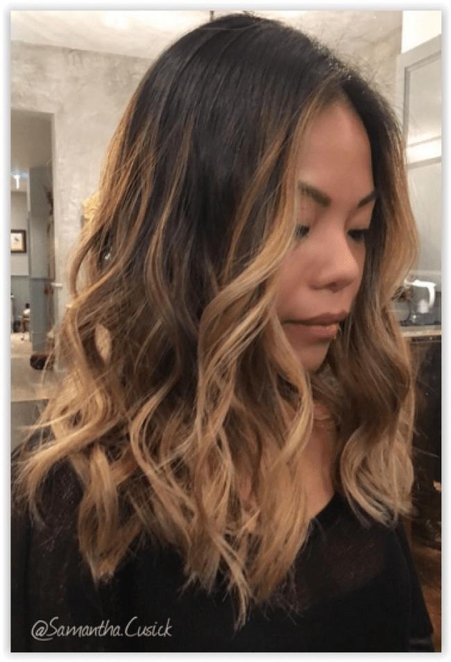 Ombre Hair Et Mches Miel 20 Modles Impressionnants
