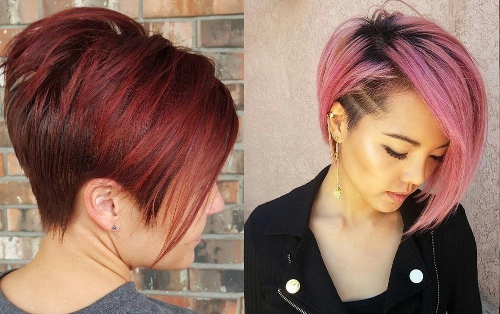 Essayez Ces Bennes Couleurs Sur Vos Cheveux Courts