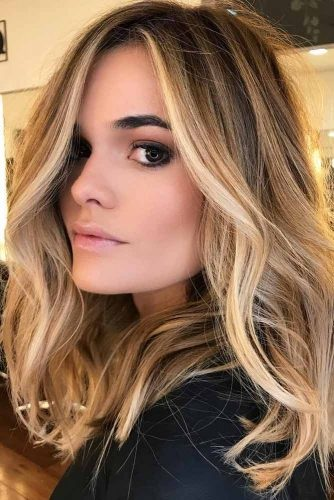 Highlights Brown Lowlights Hair Light And