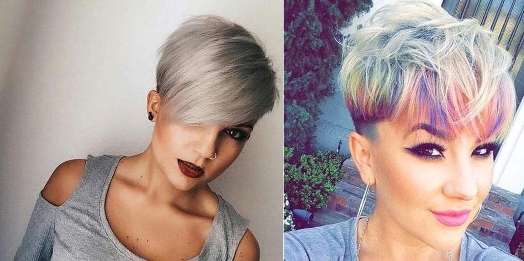 Cheveux Courtes Tendance Nouvelle Anne 2018 10 Belles