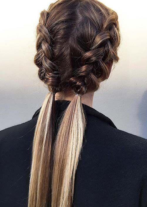 Coiffure Facile A Faire Soi Mme Pour Cheveux Mi Long