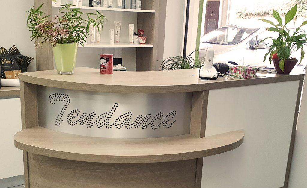 L'accueil de Coiffure Tendance à Benfeld