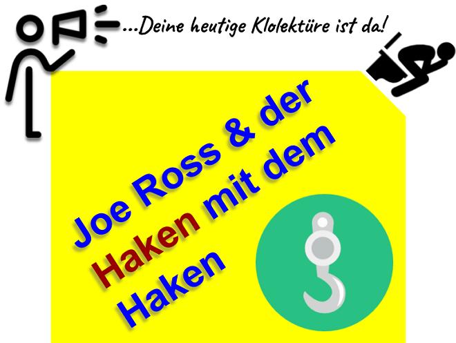 Joe Ross Haken Trading Methode Erfahrungen und Kritik