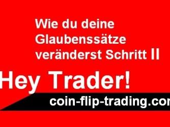 Glaubenssätze für das Traden entscheidend und gezielt verändern