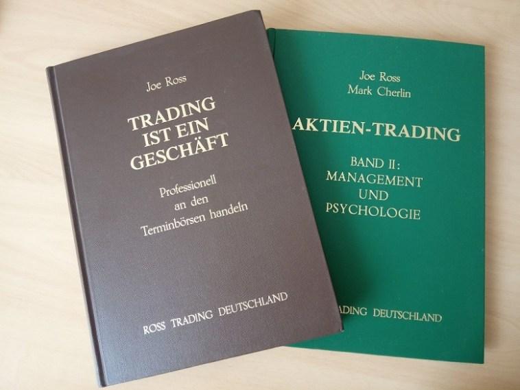 Joe Ross Haken Trading Methode Bücher - Trading ist ein Geschäft & Aktien Trading Band 2