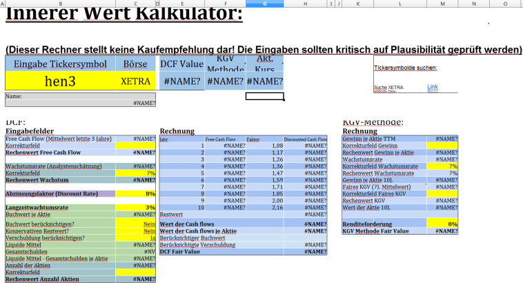 Value_Akademie_DCF_Innerer_Wert_Kalkulator