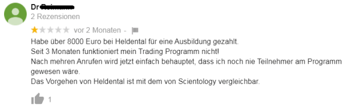 Heldental_Kritik_Google_Rezension