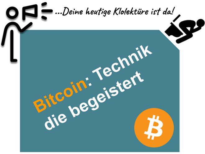 Bitcoin und Blockchain in der Zukunft