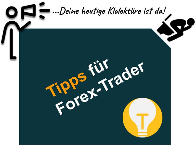 Tipps für Forex Trader