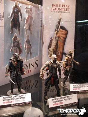 Assassin's Creed 3 figures