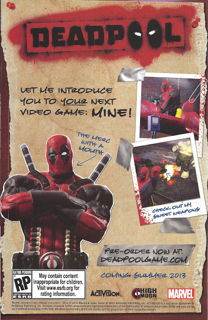 Deadpool game ad