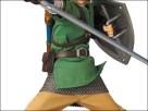 The Legend of Zelda statue
