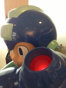 Mega Man E3 Statue