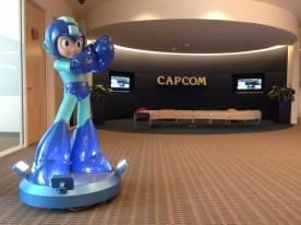 Mega Man Life Sized Statue