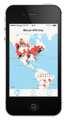 Coin ATM Radar iPhone App