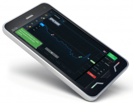 trade binary options on mobile with spectreai