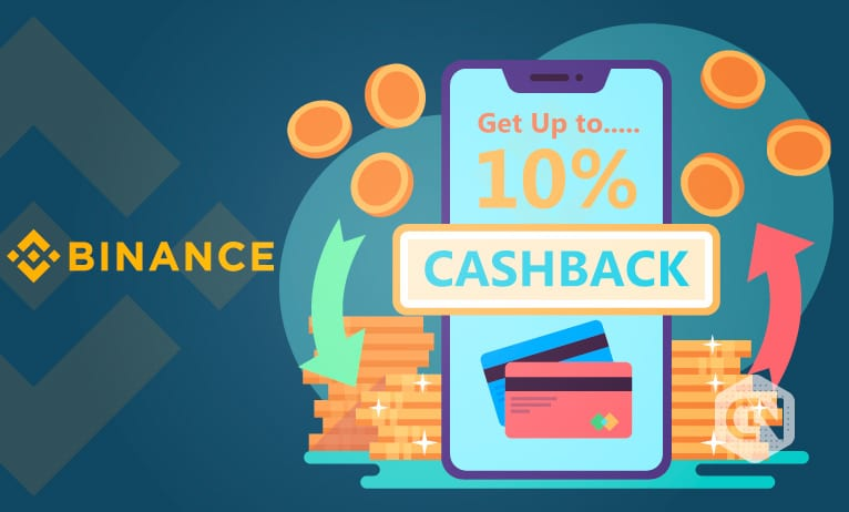 Cashback at Binance exchange
