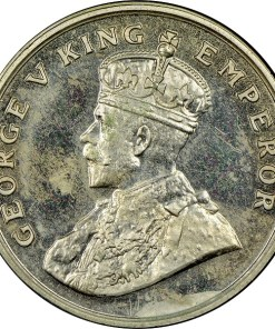 8 Anna 1920 Rare Coin of George V Emperor