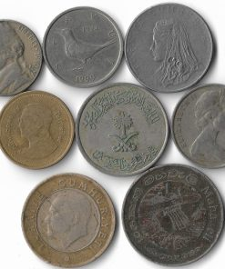 8 World Coins Collection Big Size - Collector Choice - Lowest Price - Must Buy