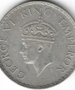 1940 One Rupee Coin of British India Silver George vi Coin Extremely Rare Coin #4