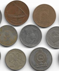 Big Size 11 Foreign Coin Collection - Collector Choice