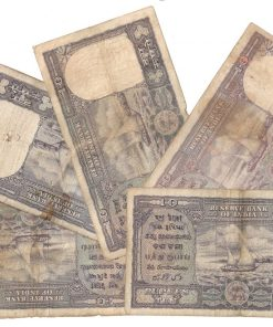 10 Rupee Fafda Issue Black Boat 5 Notes Collection Same as Per Shown - Lowest Price Deal ❤