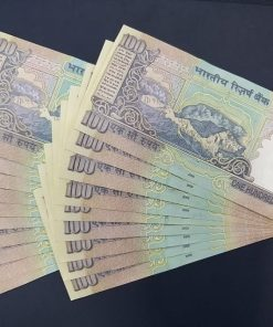 100 Rupee 19 Super Fancy Number Note Collection with Same Prefix 100000-900000 and 111111-1000000 Rare Awesome Collection