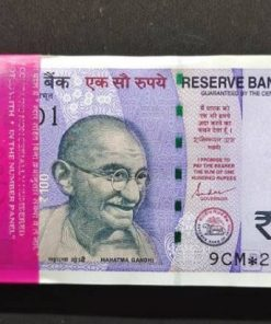 100 Rupee Star Bundle with Semi Fancy Number Notes Grab It Now