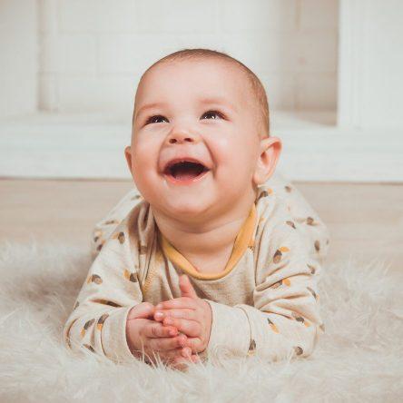 Le premier sourire de votre bébé