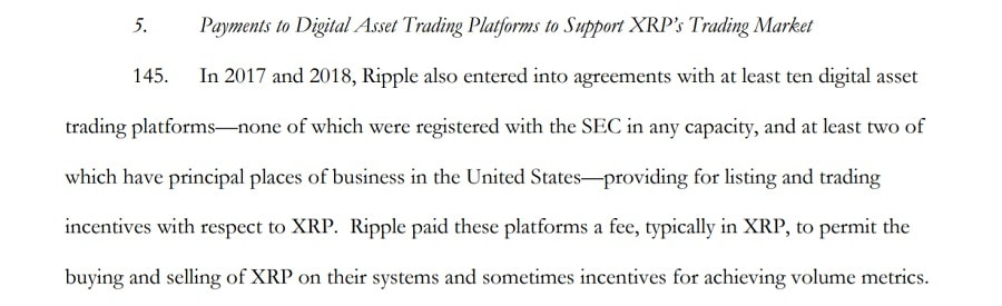Ripple Paid Exchanges