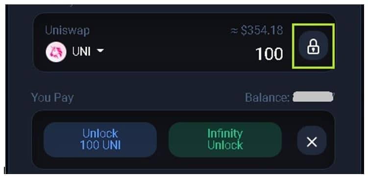 Infinity Unlock