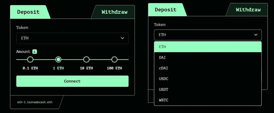 Tornado Cash Deposit