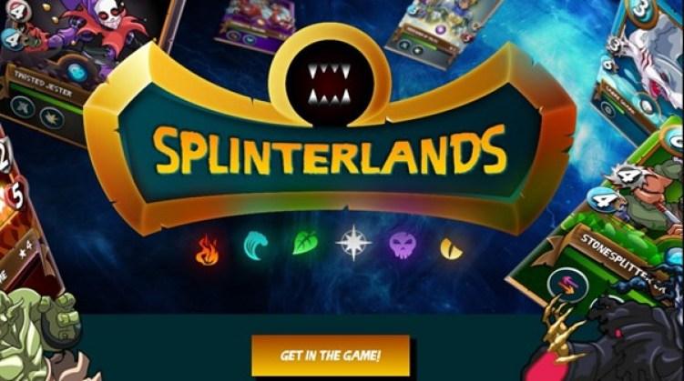 Splinterlands Welcome Screen
