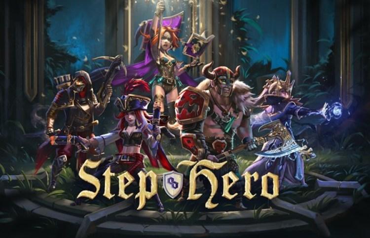 Step Hero Title Screen