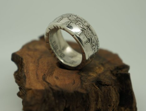 1876-Italian-5-lira-coin-ring-7