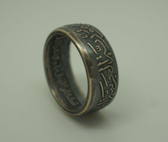 Egypt-Silver-Coin-Ring-Unique-Design-01