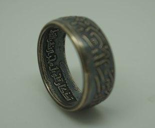 Egypt-Silver-Coin-Ring-Unique-Design-05