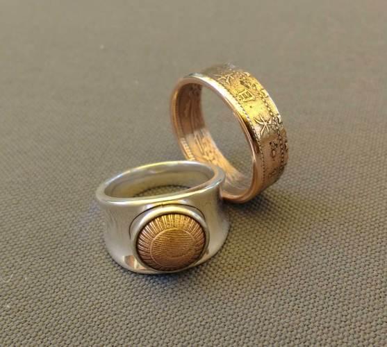 1898-1902-japan-1-sen-copper-coin-ring-couple-set-1