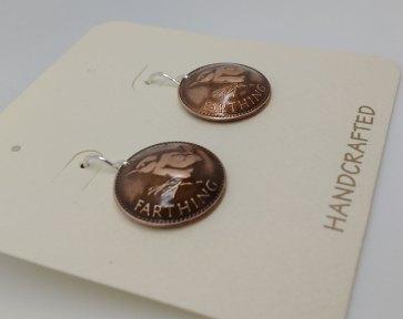 1948-uk-farthing-coin-earrings-domed-1